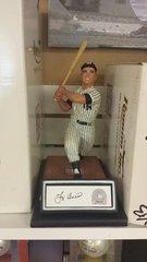 New York Yankees Yogi Berra Autographed Romito Figure Statue