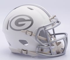 "Green Bay Packers Alternate ""Ice"" Mini Speed Helmets"