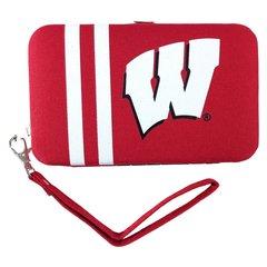 Wisconsin Badgers Shell Wristlet Wallet/Purse
