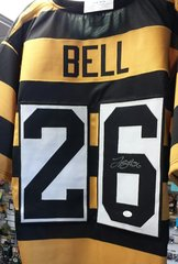 Pittsburgh Le'veon Bell Custom Autographed Bumble Bee Jersey