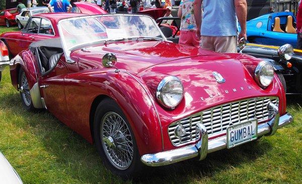 triumph tr2   1953 1954 1955 1956 1957 including air