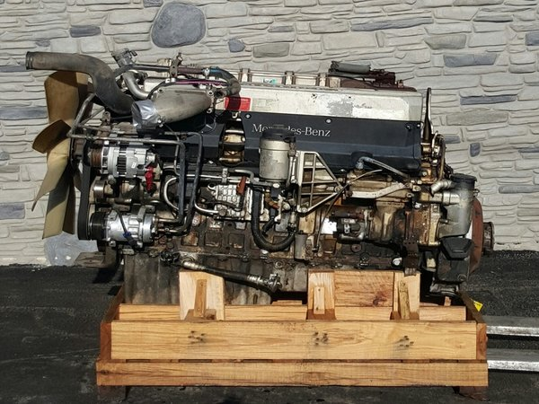 2004 mercedes om460la mbe4000 quality used heavy truck for Mercedes benz diesel truck engines