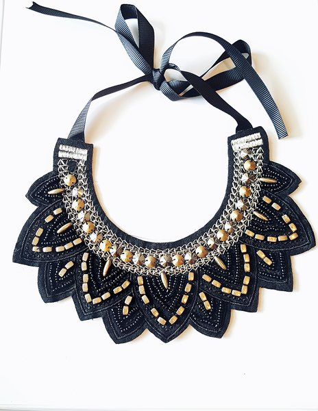 fashion necklaces necklace gold bib