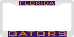 License Plate Frame, UF Gators
