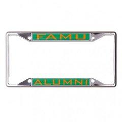 License Plate Frame, FAMU Alumni, Dual Bar
