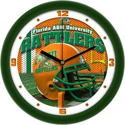 Clock Wall Football Helmet Famu Hbcu Hbcu