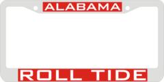 License Plate Frame, Alabama Roll Tide