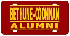 License Plate, BCU Alumni, Bar Series