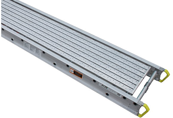 Aluminum Scaffold Planks : Werner taskmaster aluminum plank  long by quot wide