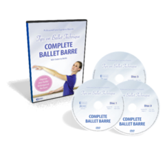 IMPROVE YOUR BALLET TECHNIQUE 3 DISC DVD