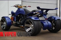 Spy 250F1-A Blue Road legal Quad Bikes- Spy Racing