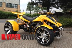 Spy 250F1-A Yellow Road legal Quad Bikes- Spy Racing