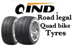Qind Da Tyre 185-30-14 Road Legal Quad Bike Tyres
