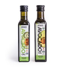 2 Pack (1) Avohass Organic Extra Virgin Avocado Oil & (1) Conventional Extra Virgin Avocado Oil, USDA Certified, Non-GMO Project Verified, Kosher Certified, (2) 8.5 fl. oz. Bottles. Product of New Zealand and USA. Product Expiration Date April 2020.