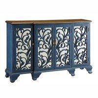 Hawthorne Blue Mirrored Sideboard Furniture Gallery