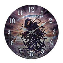 Alchemy Gothic Tithe To Hell Wall Clock