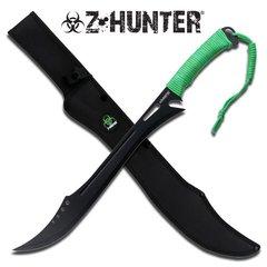 "Z-Hunter Neon Zombie Green 25"" Machete"