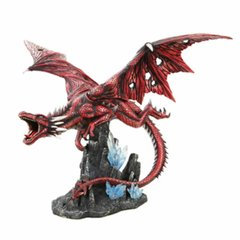 Red Flying Dragon Statue