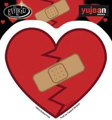 Evilkid healed heart Sticker