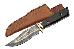 Gentleman's Damascus Hunter Fixed Blade Knife