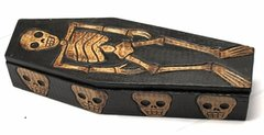 Coffin Skull Box