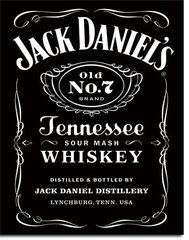 Jack Daniels' Whiskey Nostalgic Metal Sign