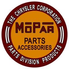 Chrysler Mopar Parts Metal Sign