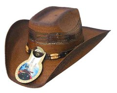 Texas Gold Large/ X-Large Chestnut Brown Cowboy Hat