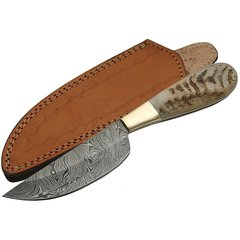 "9"" Ram Belly Skinning Fixed Blade Knife"