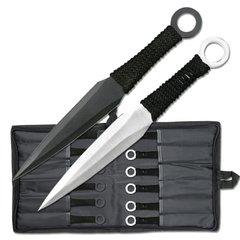"""12 Pc. Naruto Throwing Knife Set / 8.5"""""""