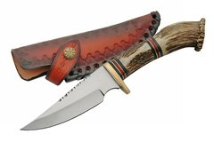 "11"" Hunter with Genuine Crown Stag Handles"