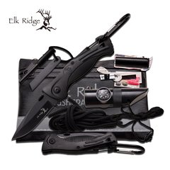 Elk Ridge Black Survival Kit