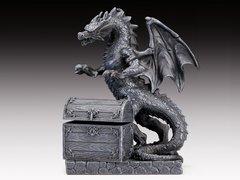 Black Dragon Treasure Box