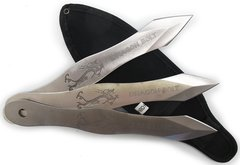 """Dragon Bolt"" 3 Pc Throwing Knife Set"
