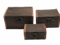 3 Pc. Wooden Box Set