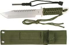 MTech Survival Knife 1 Piece Construction w/ Fire Starter