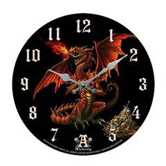 Alchemy Gothic Theothalax Draconis Clock