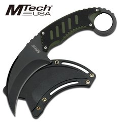"MTech ""Hawks Beak"" Karambit - Black/Green"