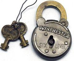 Replica Antique Winchester Padlock