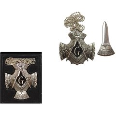 Decorative Masonic Hidden Neck Knife