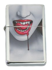 Vampire Lips Chrome Lighter