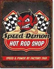Nostalgic Metal Signs / Speed Demon Hot Rods