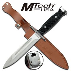"MTech ""Skewer"" 14"" Bayonet - Silver"