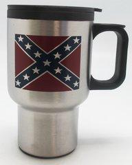Rebel Flag Travel Mug