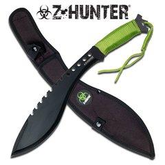 "Z-Hunter Green Handle 16.5"" Machete"