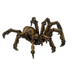 Steampunk Mechanical Spider