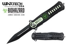 """Wartech """"X-Ray"""" Assisted Opening Zombie Stiletto"""