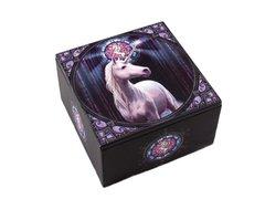 "Anne Stokes Exclusive Unicorn ""Enlightment"" Wooden Box"