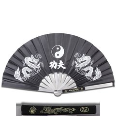 Metal Kung Fu Fighting Fan in Assorted Colors