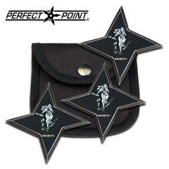 "Perfect Point 3"" Ninja Throwing Stars"